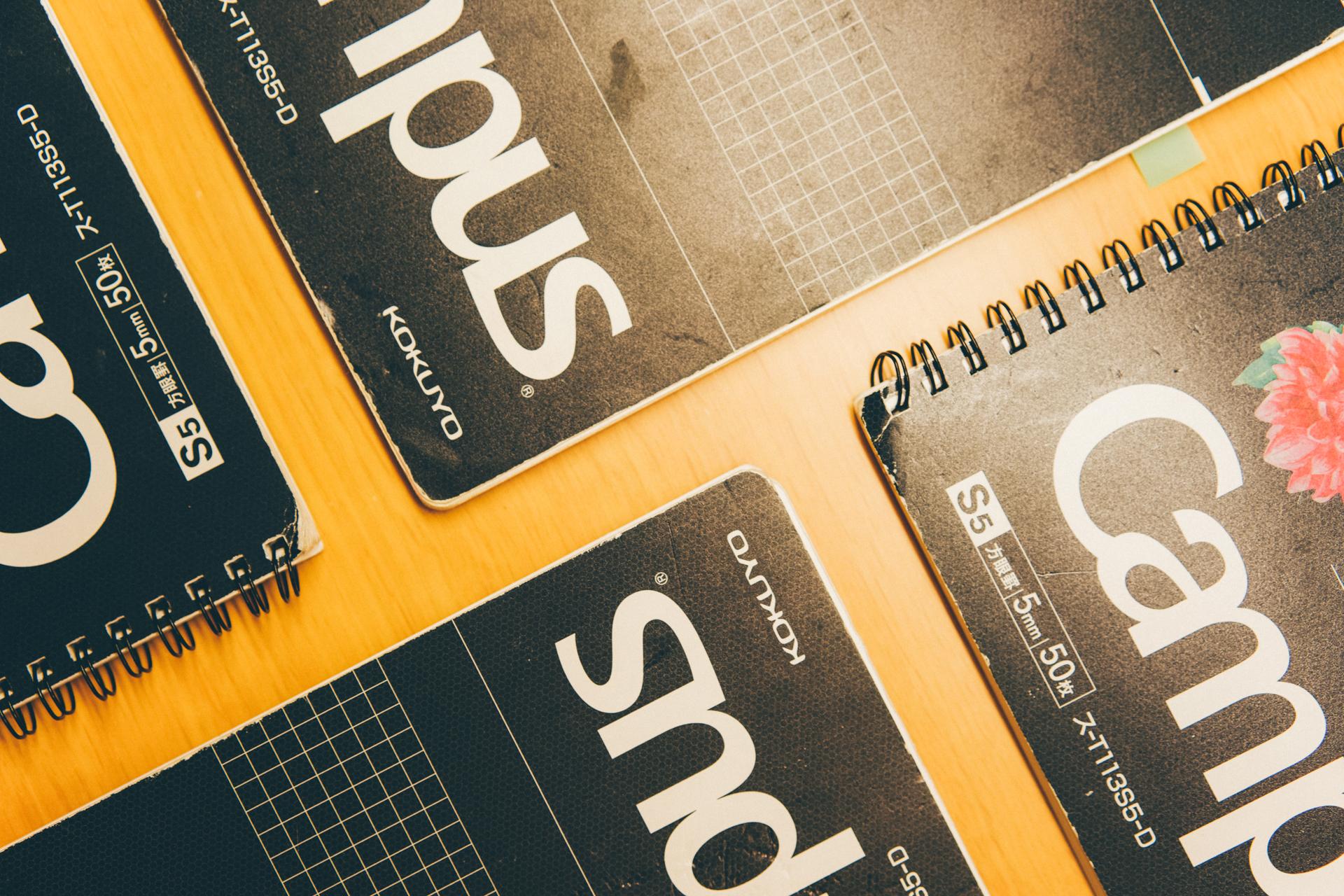 中学受験で使用したノート